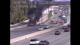 Truck fire slows SR 408 in Orange County