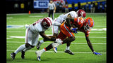 No. 1 Alabama romps past Florida 54-16 in SEC title game