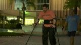 Paraplegic takes part in Disney Marathon Weekend