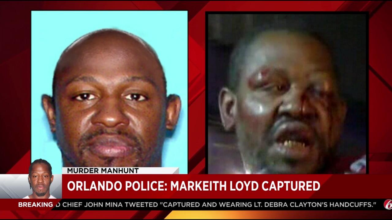 Markeith Loyd taken into custody in slain officer's handcuffs