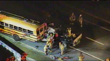 Truck hits school bus in Orlando, fire rescue says