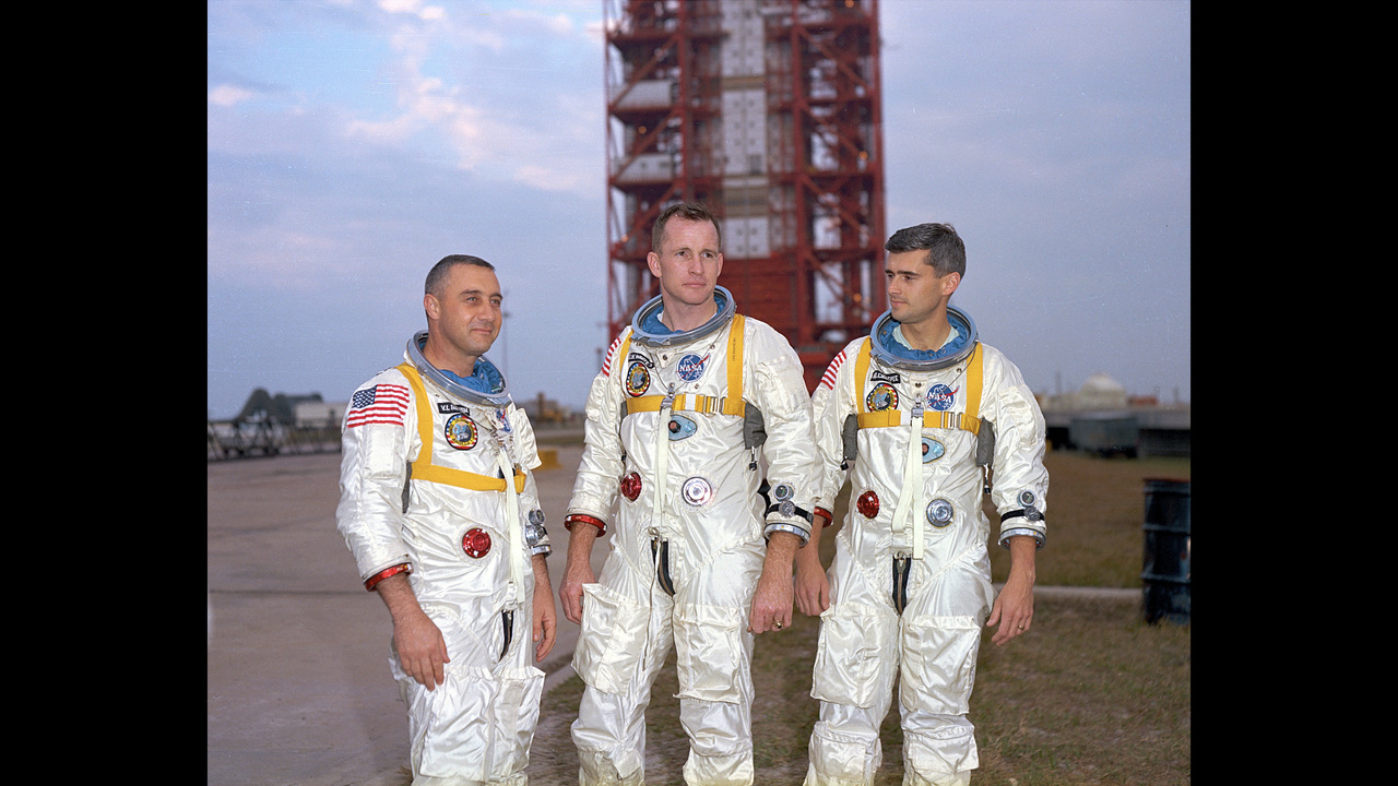 white apollo 1 astronaut - photo #20