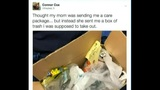 Mom sends son trash in mail after he didn't take it out