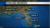 Sabal Trail Pipeline construction and protests continue