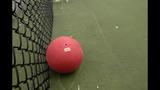 Girl's dodgeball video goes viral
