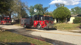 No one injured in Orlando house fire