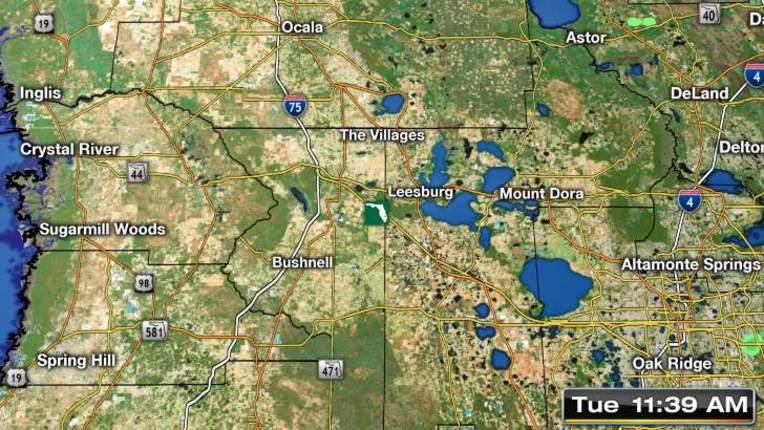 Weather radar for wildwood florida