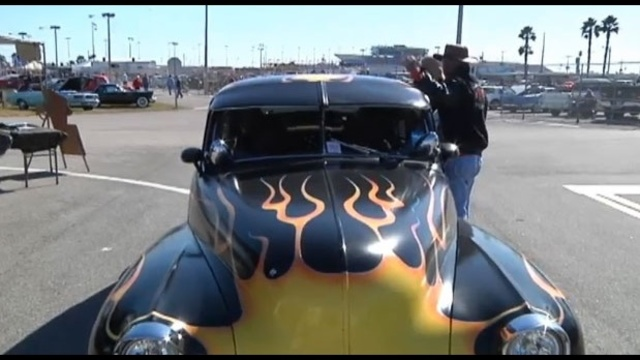 Hotrods Classic Cars At Turkey Run Car Show - Turkey run car show