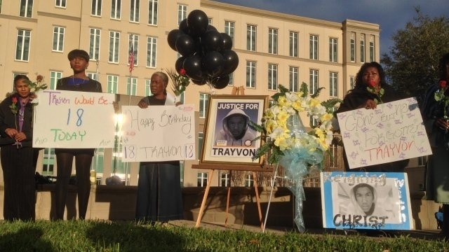 Trayvon Martin birthday remembrance