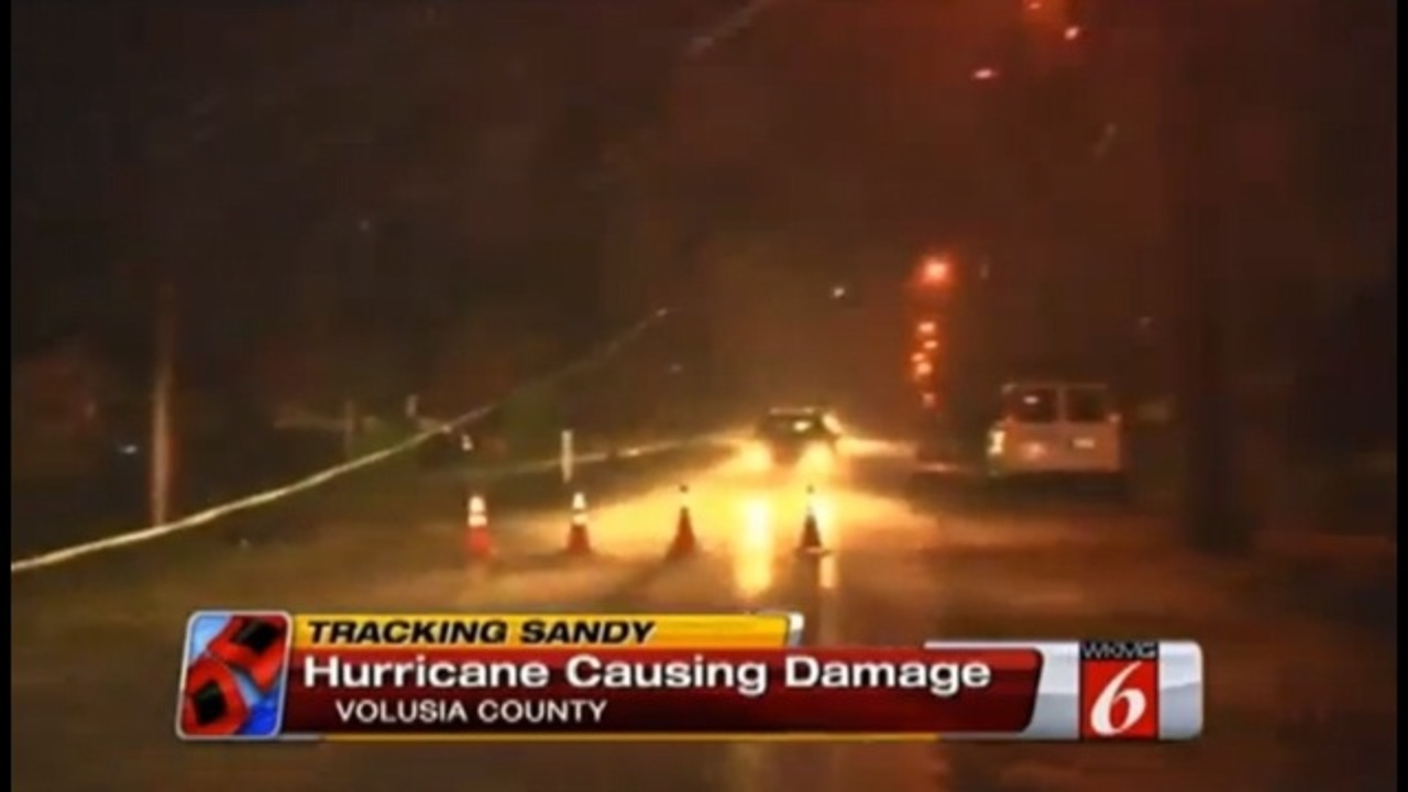 Gas Prices In Orlando Florida >> Hurricane Sandy's strong winds cause power outages in