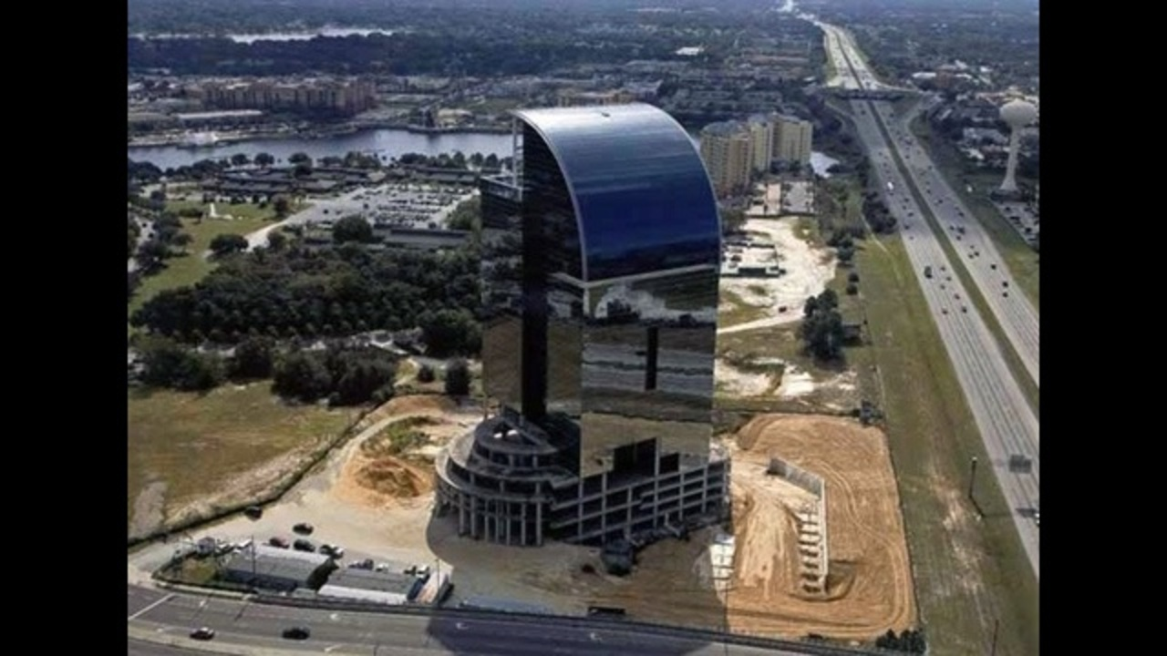Report I 4 Eyesore Building Nears Completion