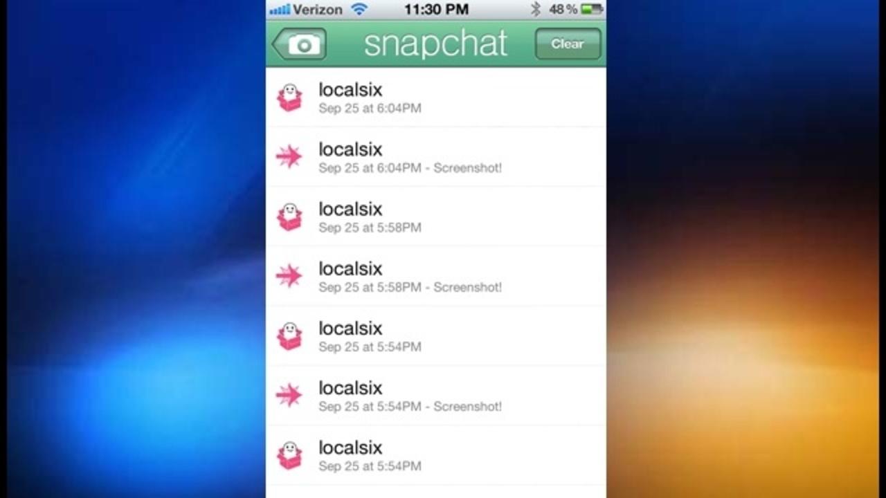 iPhone app makes 'sexting' easier