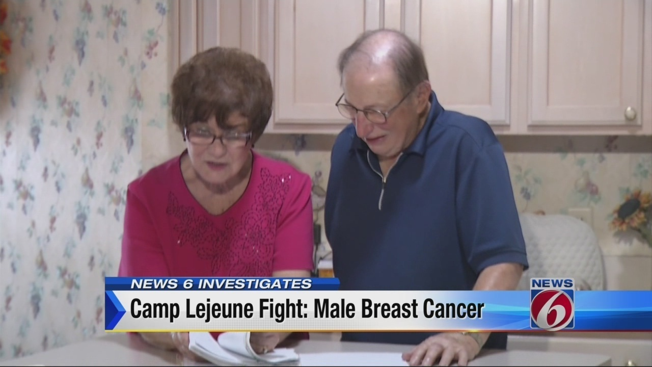 What Are My Rights During A Traffic Stop >> Camp Lejeune fight: Male breast cancer