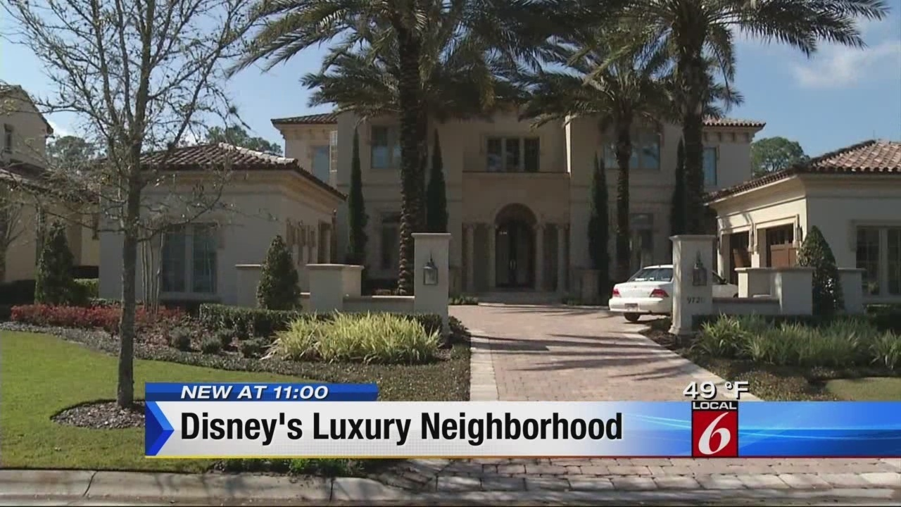 Luxury Homes Inside Disney World Attracting Families