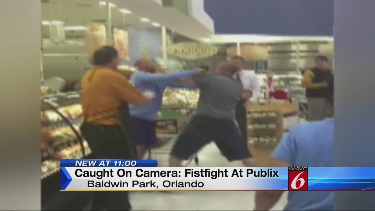 two men brawl in baldwin park publix deli aisle