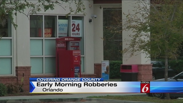 Serial robber sought in store robberies in Orange County on