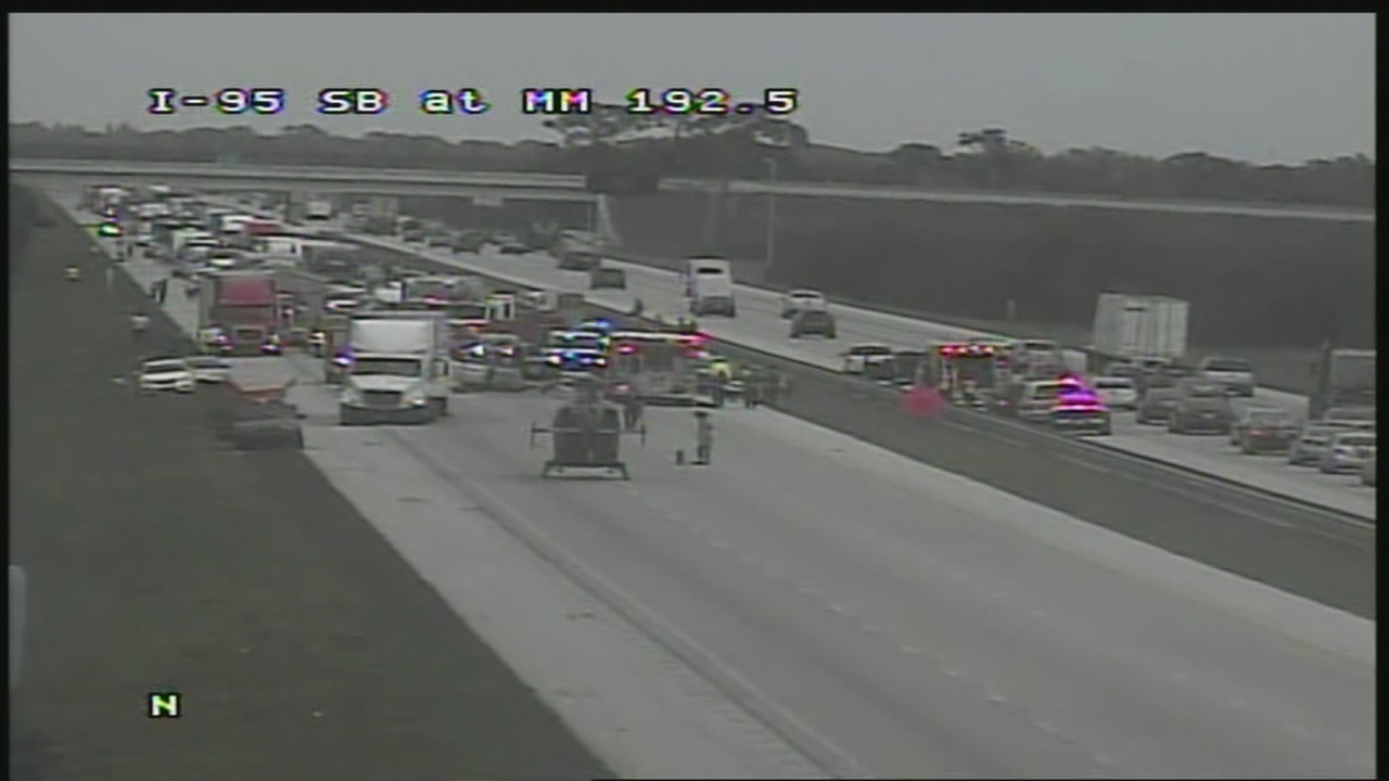 I-95 reopens after fatal crash in Brevard County