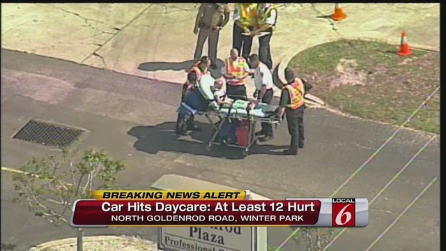 Driver Sought In Winter Park Daycare Crash Girl 4 Dies