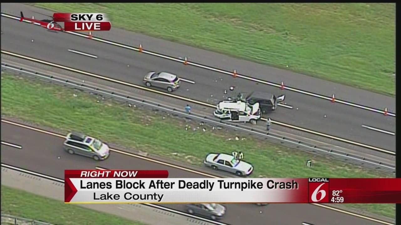 Turnpike Flrorida Car Accident