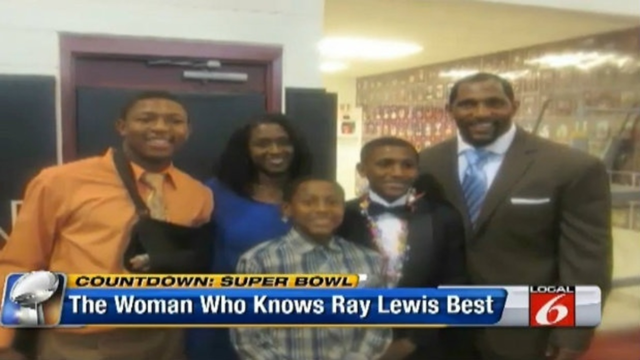 14fd775ab Video thumbnail for Mother of Ray Lewis  children opens up about Super Bowl  linebacker