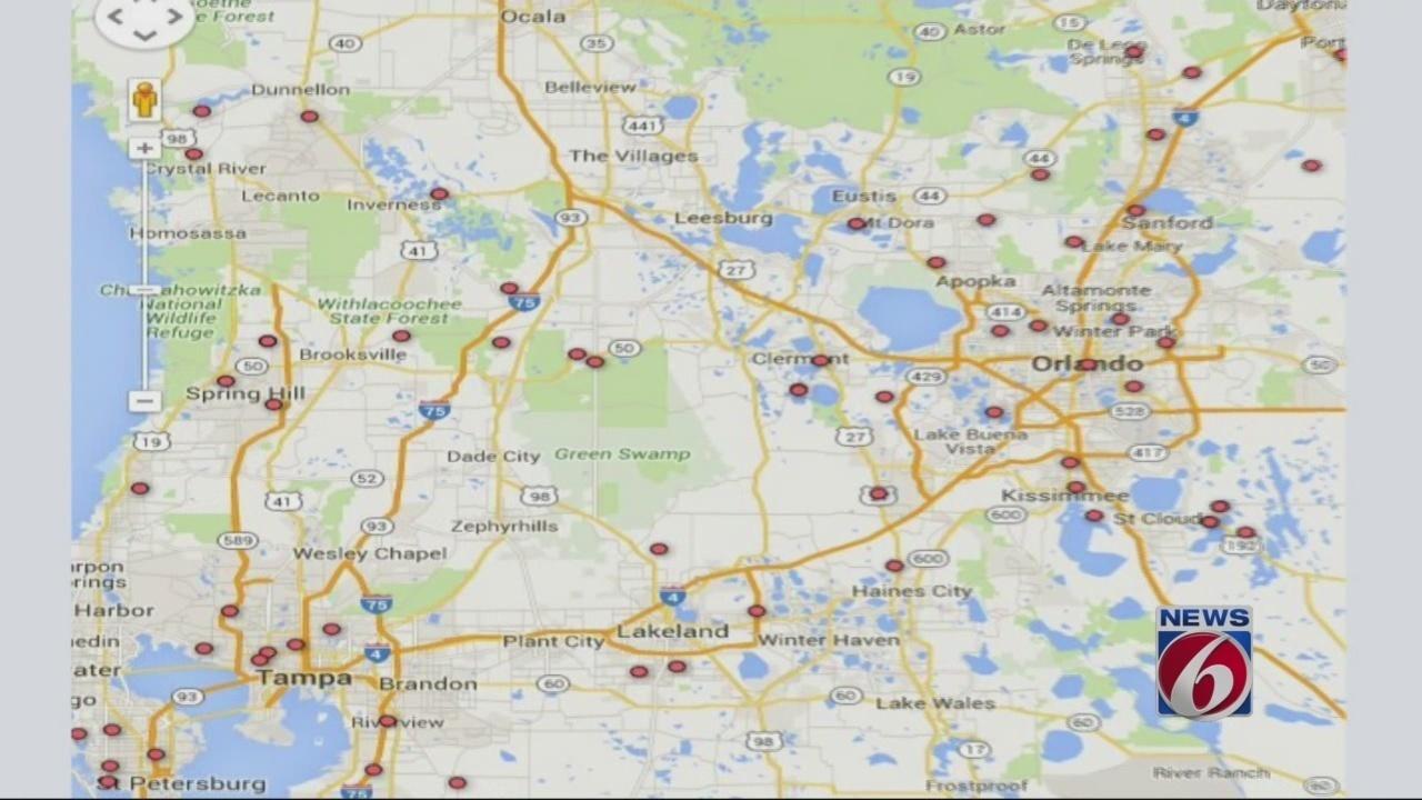 MAP Find Venomous Snake Permit Holders Near You - Florida map eustis
