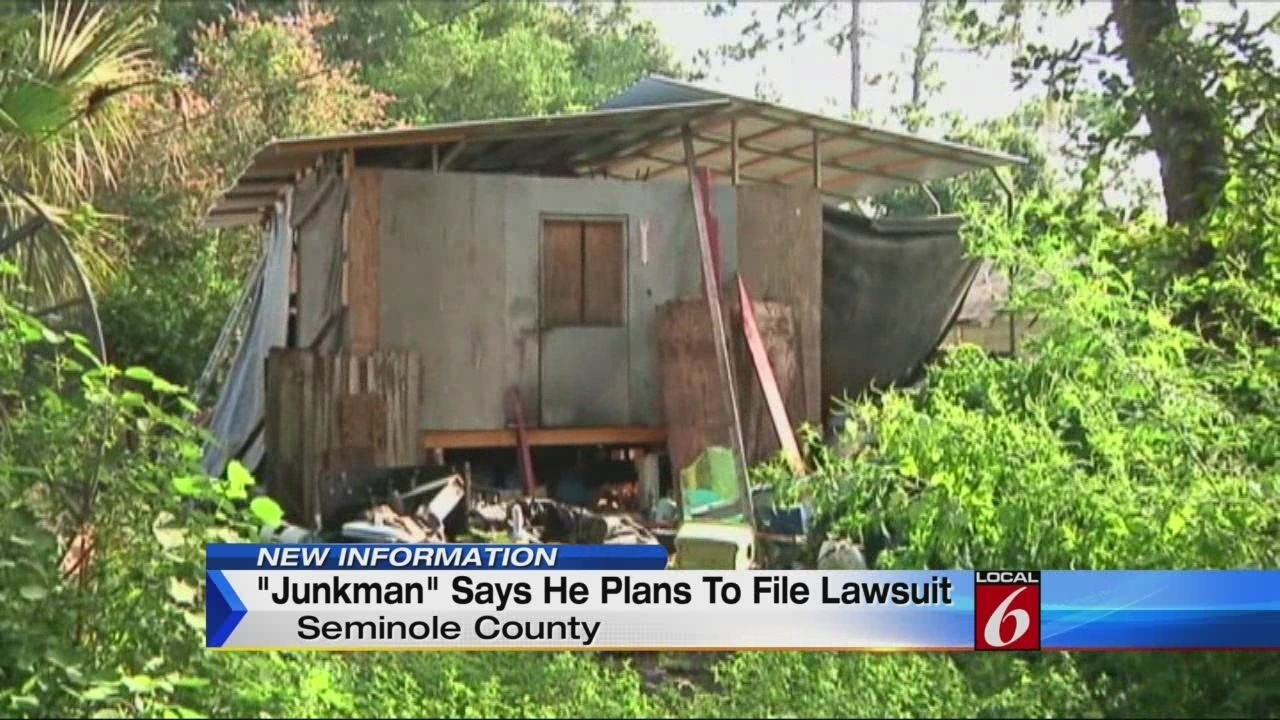 39 junkman 39 speaks out following recent arrest for Fish camp lake eustis