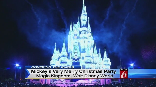 video thumbnail for mickeys very merry christmas party kicks off - Disney Christmas Party 2015