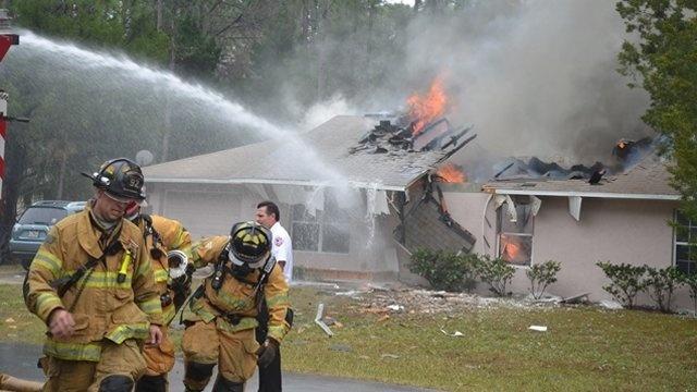 Plane crash into Palm Coast home