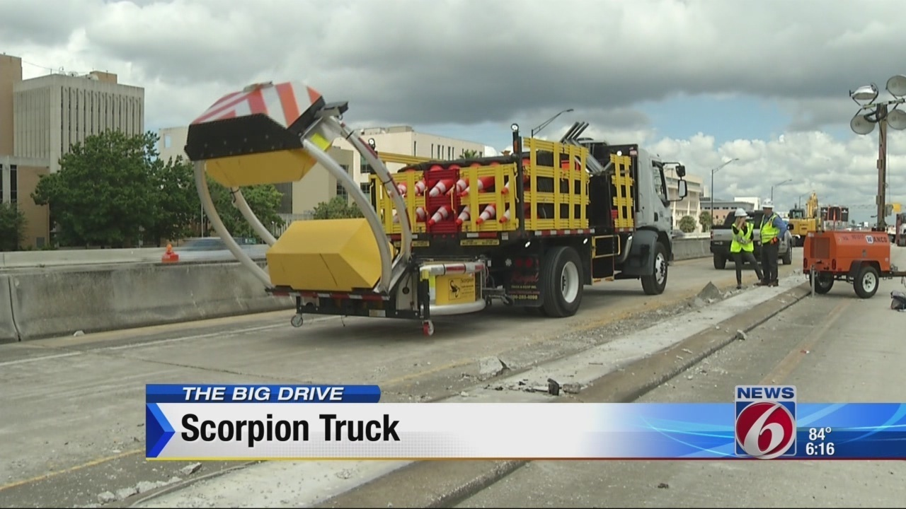 O Meara Ford >> State-of-the-art truck protects crews, drivers on Big Drive