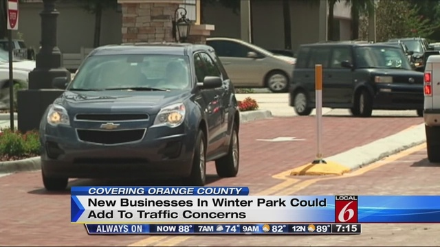 New Winter Park Businesses Add To Traffic Concerns
