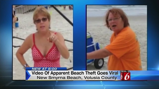 Video of apparent thieves goes viral