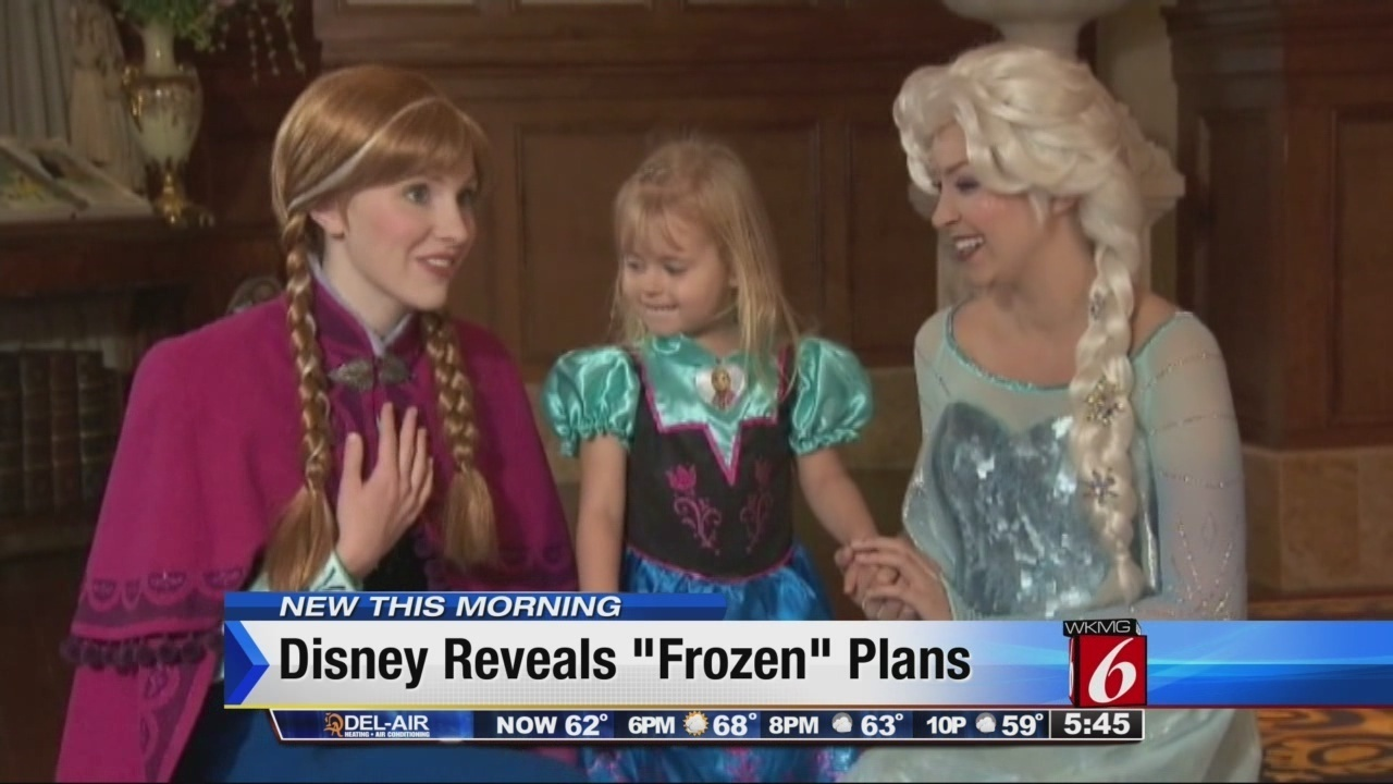Frozen To Epcot Plans Heating Up