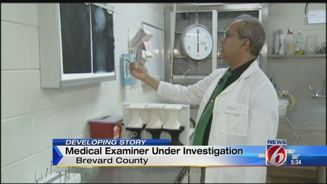 Brevard County Medical Examiner Under Investigation