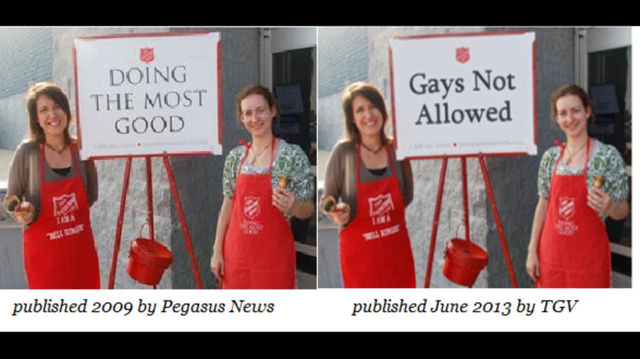 Salvation army homosexuality australia