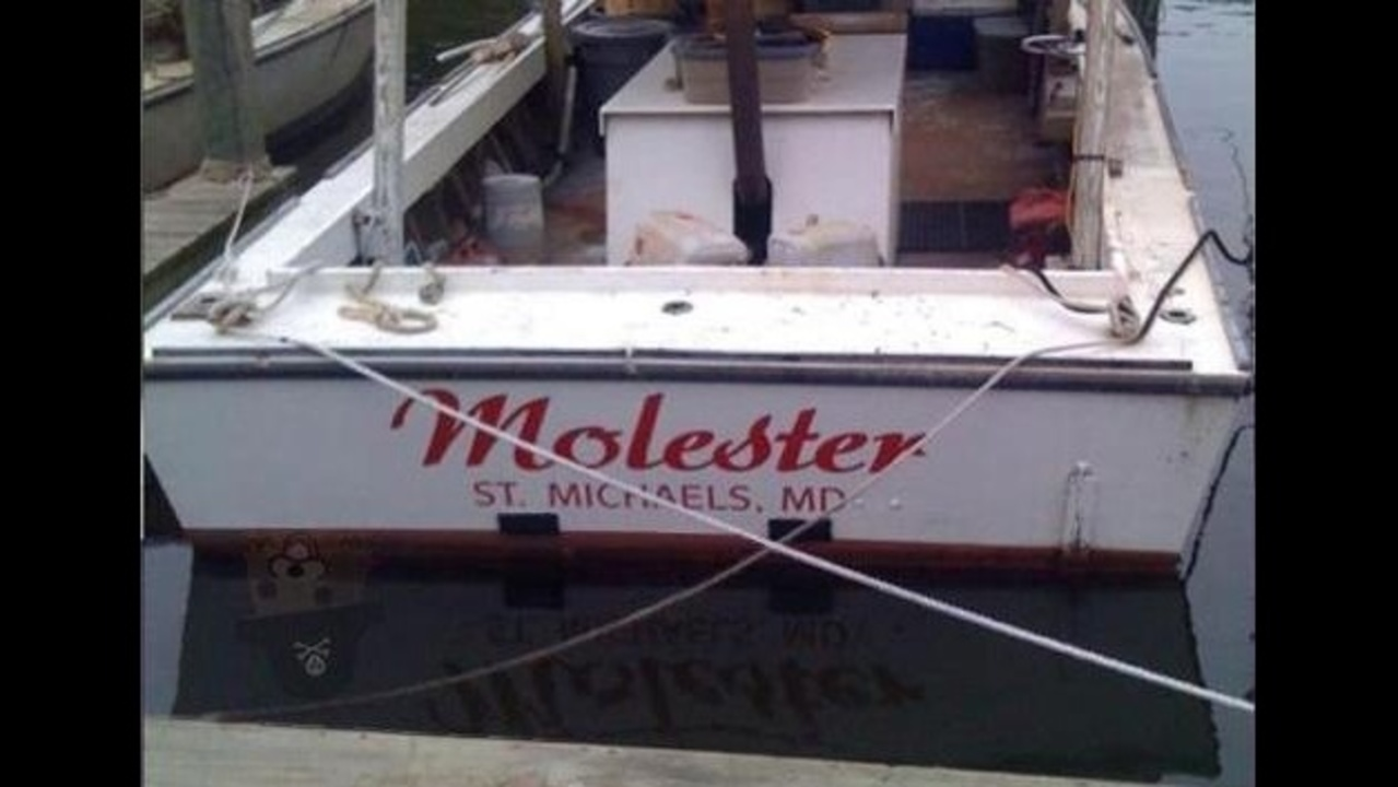 Shipwrecked Funny Boat Names