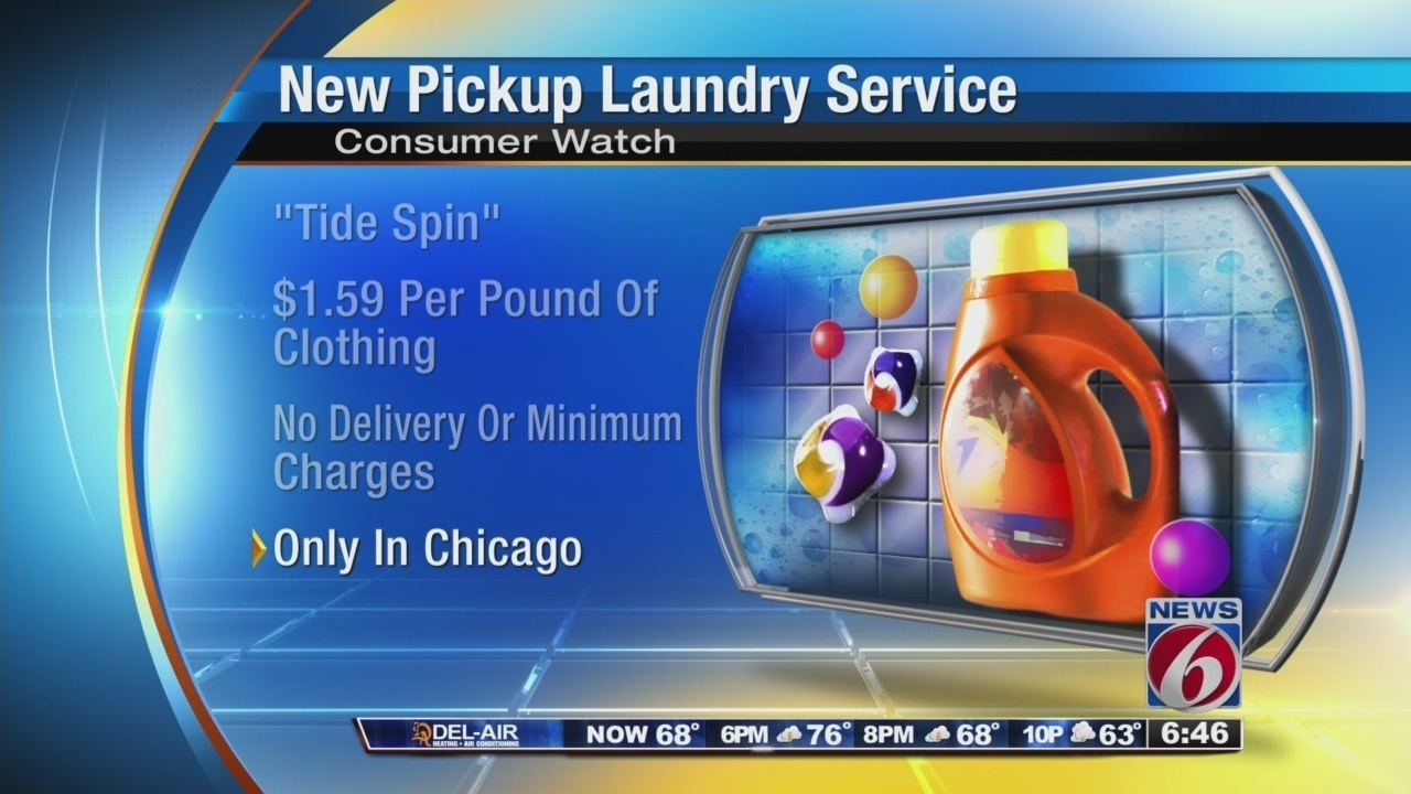 Tide Spin New Laundry Delivery Service