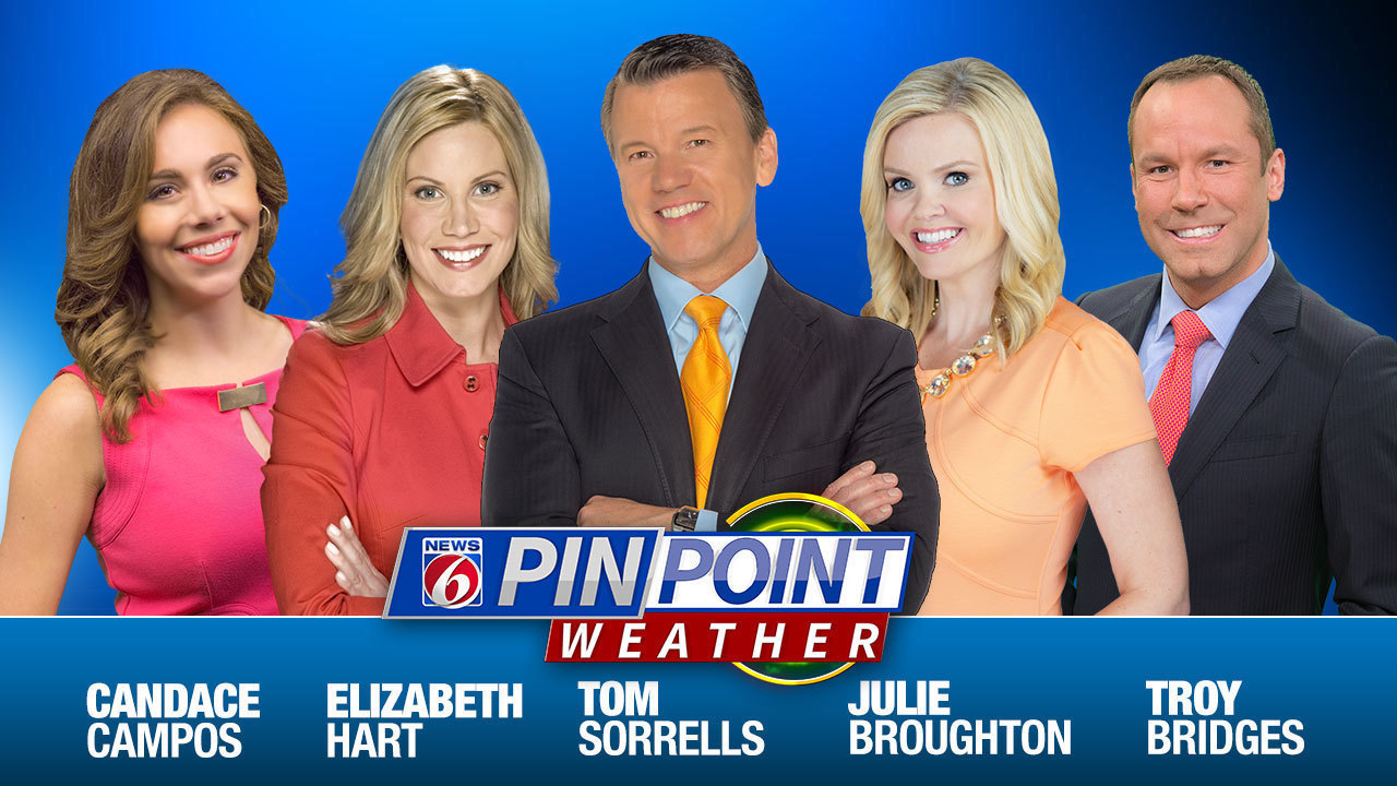 News 6 weather webcast