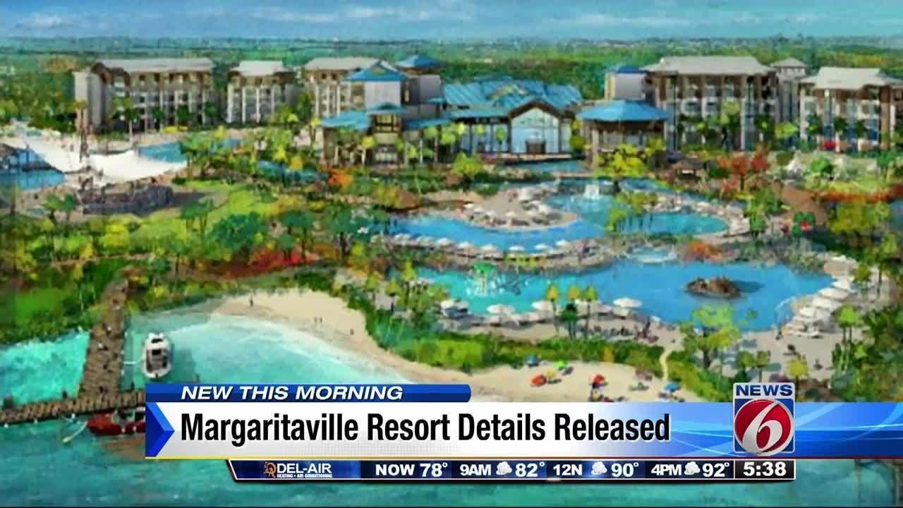 Margaritaville Resort Orlando Releases First Renderings