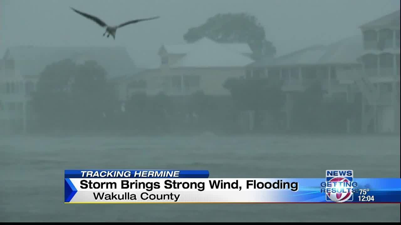 Storm brings strong wind, flooding to Wakulla County