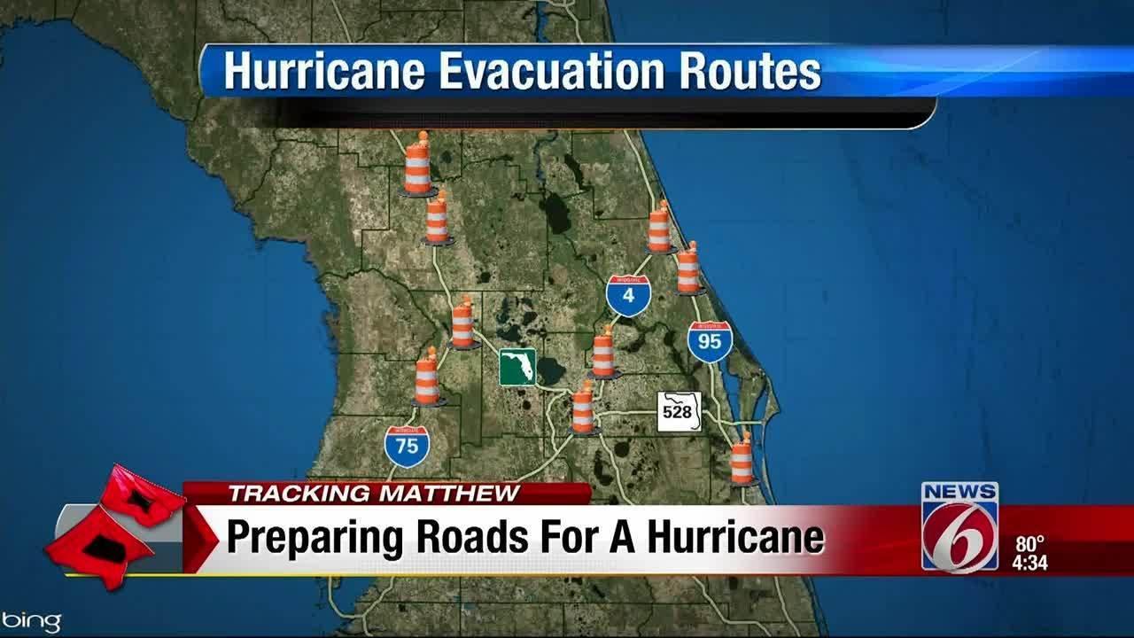 hurricane matthew preparedness plan your evacuation route now
