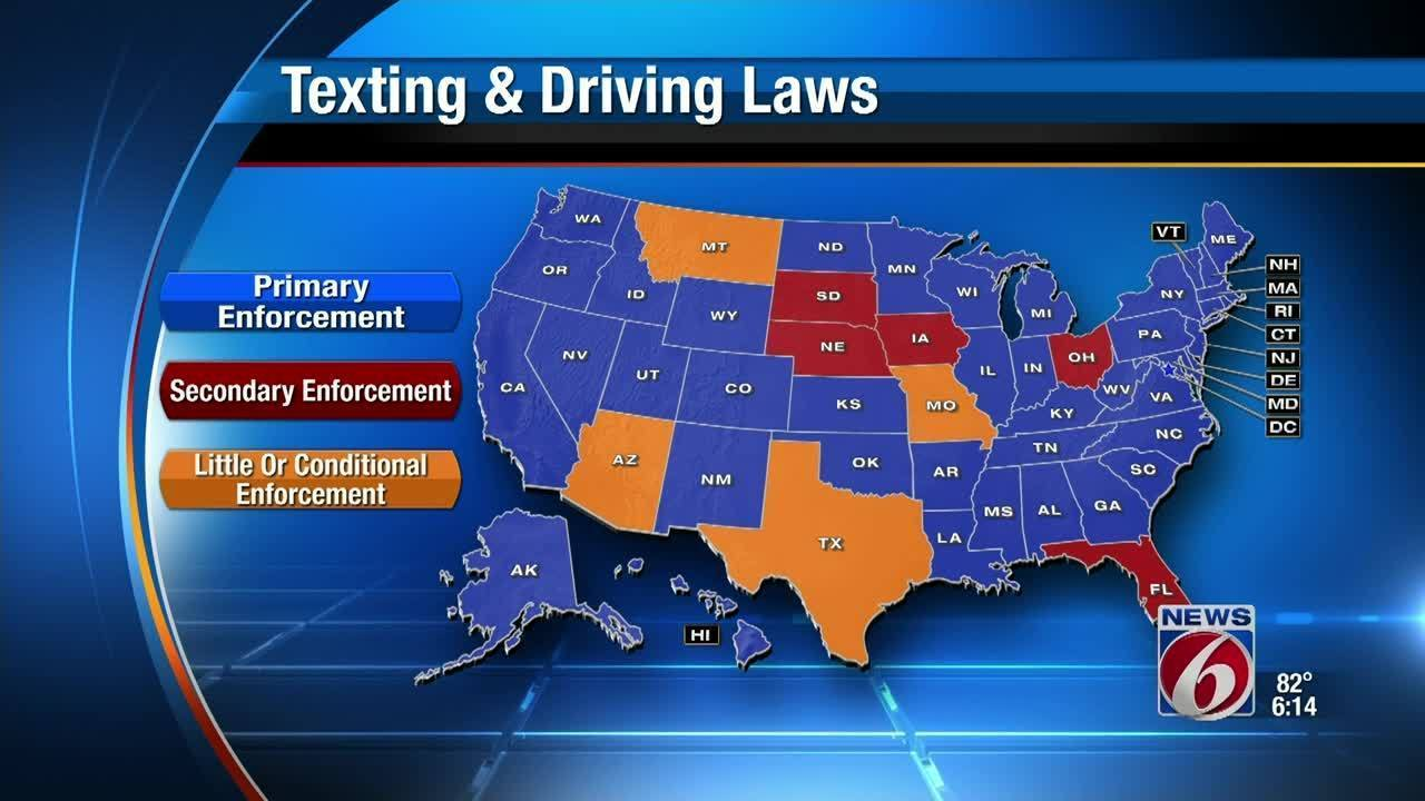 Florida Lawmakers Ask For Data On Distracted Driving Laws