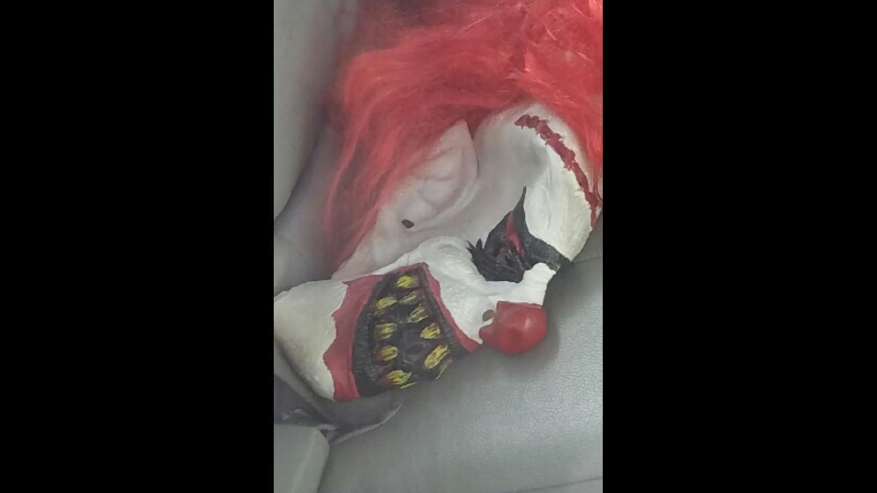 Stranded teens clown