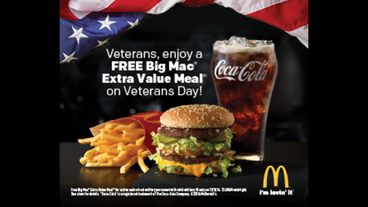 Veterans Day Free Food Military
