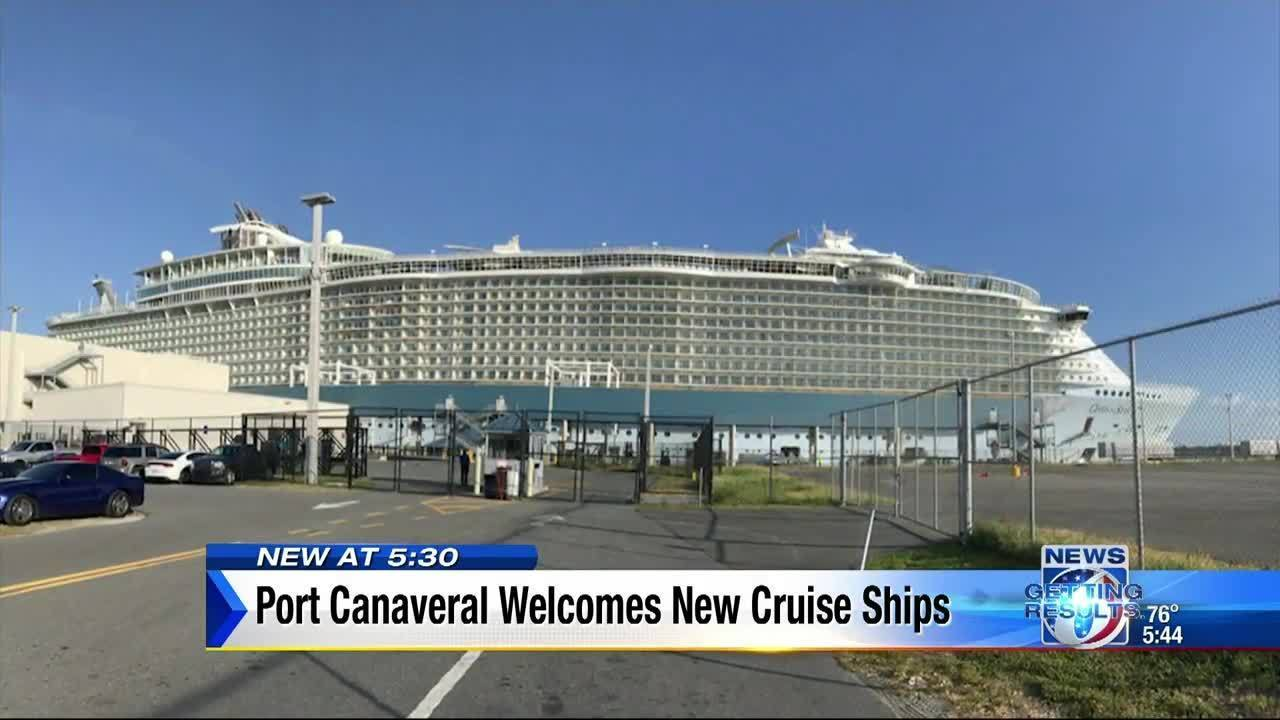 Port Canaveral Welcomes New Royal Caribbean And Norwegian