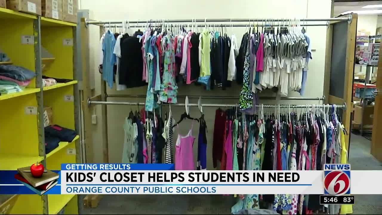 Kidsu0027 Closet Helps Students In Need