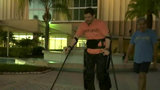 Paraplegic takes part in Disney Marathon Weekend