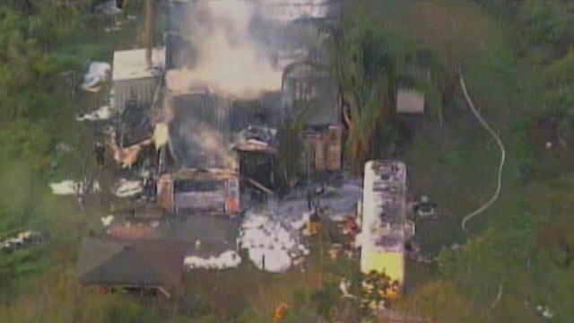 Infamous St. Cloud sex house destroyed in fire