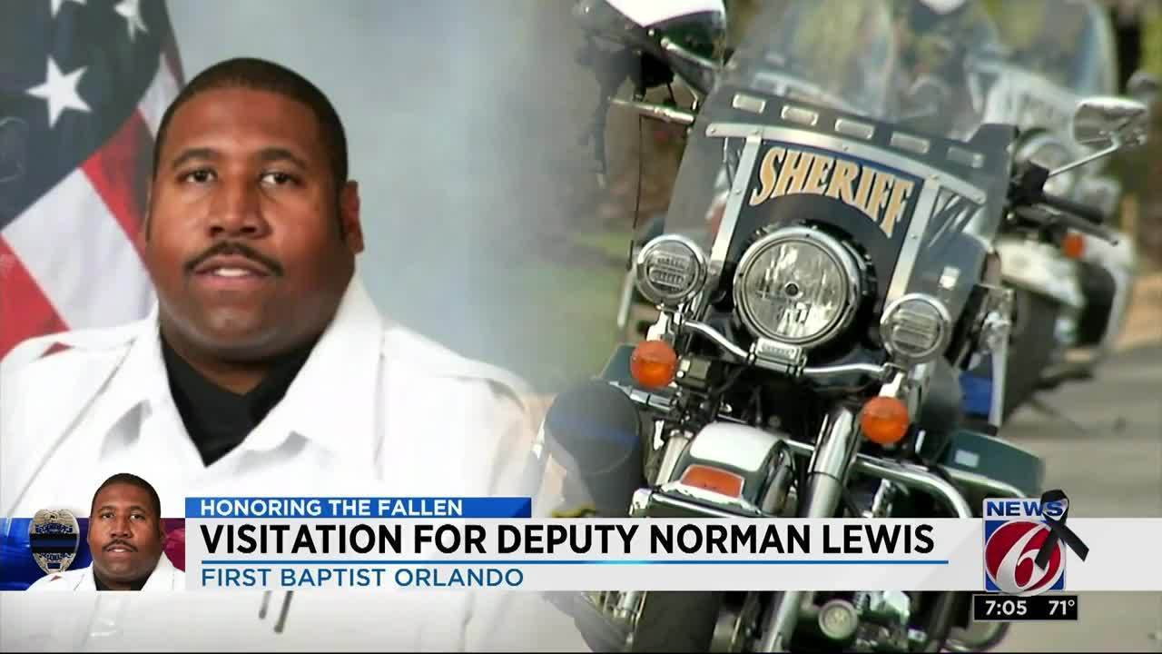 Viewing held for Deputy Norman Lewis