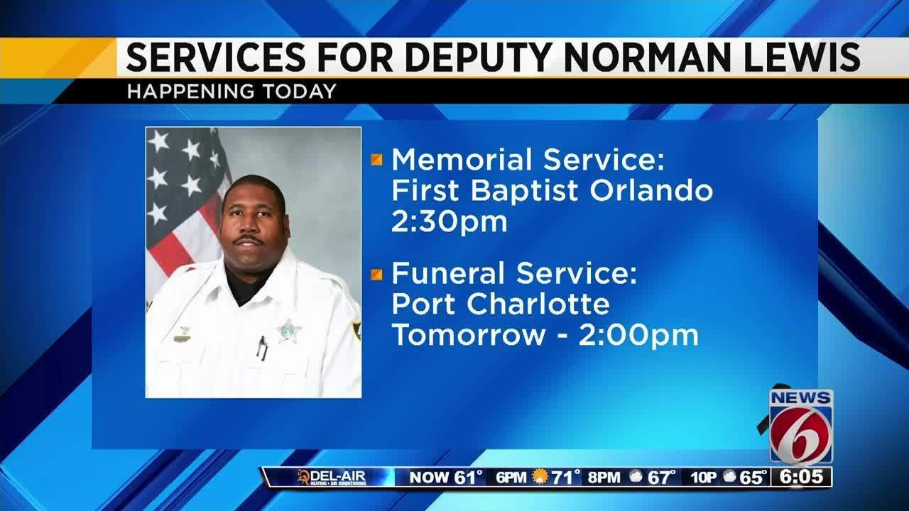 Services for Deputy Norman Lewis