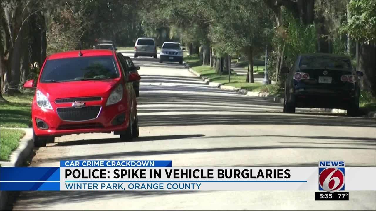 Three Men Arrested In String Of Winter Park Vehicle Burglaries